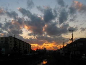 2009年12月2日横浜市栄区にて