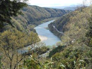 早春の泉川(木津川)