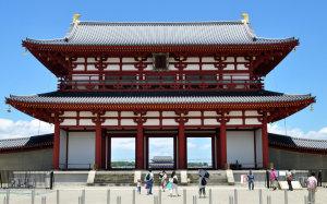 平城宮朱雀門(奈良県奈良市)