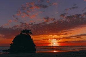 稲佐の浜弁天島