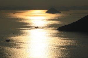 屋島より瀬戸内海を望む(うどん県旅ネット)