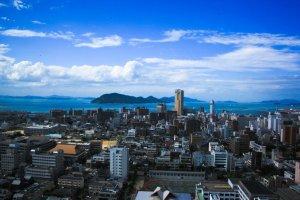 高松市街(うどん県旅ネット)