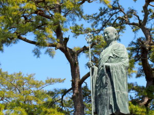 弘法大師像(善通寺)