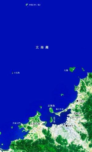玄海灘地図