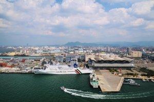 博多港(提供:福岡県)