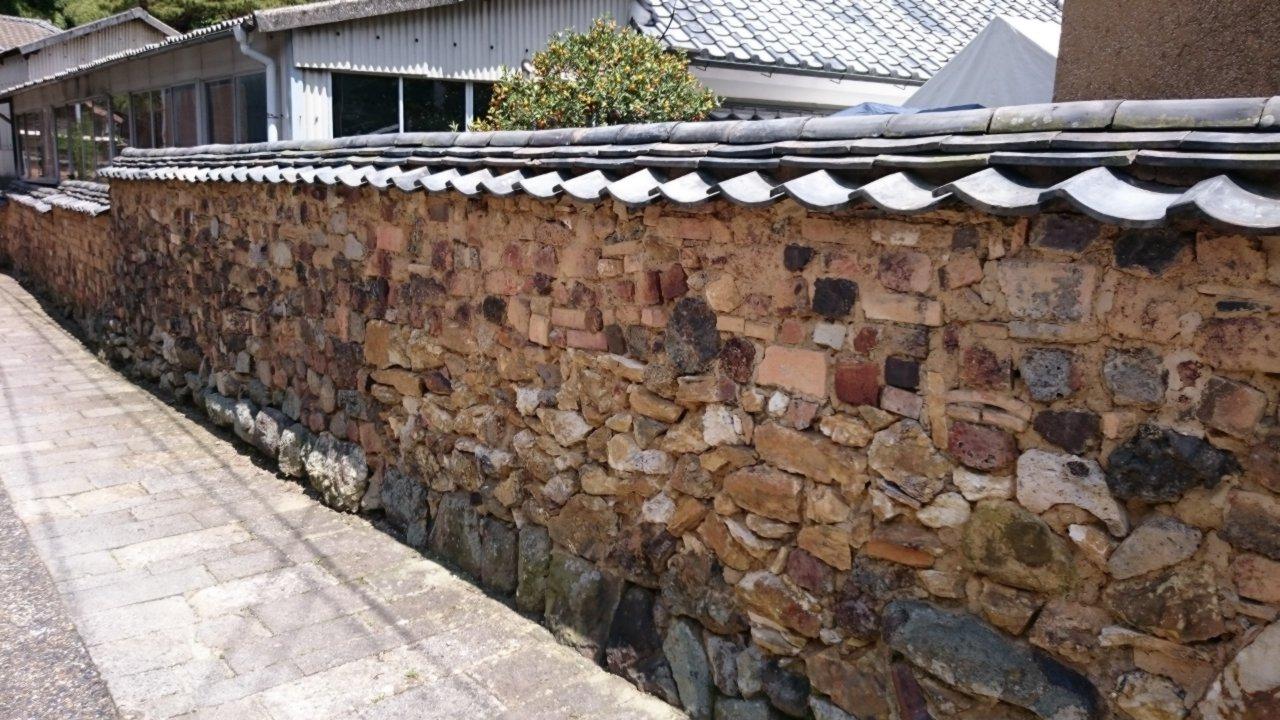 佐賀県有田町のトンバイ塀