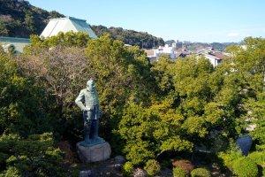 城山 西郷隆盛銅像